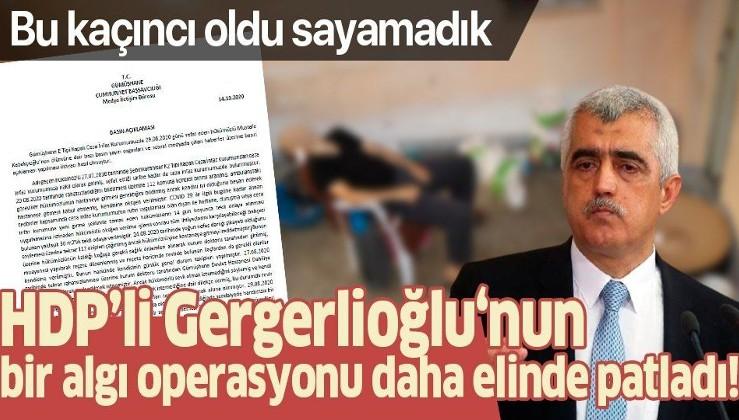HDP'li Ömer Faruk Gergerlioğlu'nun 'Mustafa Kabakçıoğlu' üzerinden giriştiği algı operasyonu bozuldu!