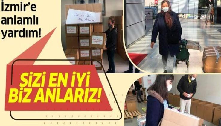 Son dakika: İzmit'teki vatandaşlardan İzmir'e yardım: Sizi en iyi biz anlarız