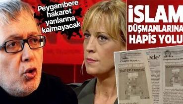 """Yargıtay Cumhuriyet Başsavcılığı, Cumhuriyet yazarları Ceyda Karan ve Hikmet Çetinkaya'nın """"peygambere hakaret"""" skandalında kararını verdi"""