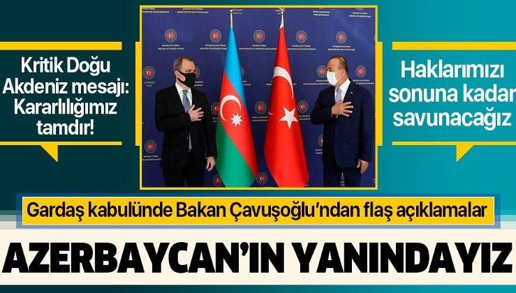 Son dakika: Bakan Mevlüt Çavuşoğlu'ndan Ermenistan'a sert tepki: Tüm imkanlarımızla Azerbaycan'ın yanındayız
