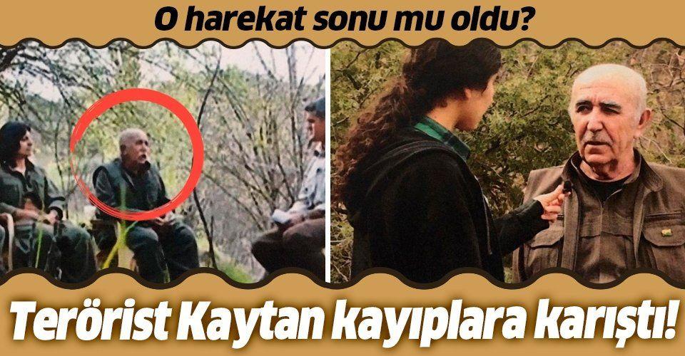 Terör örgütü PKK'nın sözde komutanı Ali Haydar Kaytan kayıplara karıştı!