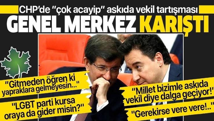 """Kılıçdaroğlu'nun """"Davutoğlu ve Babacan'a grup kurması için destek veririz"""" açıklaması CHP'yi karıştırdı"""