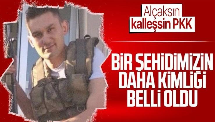 SON DAKİKA: Gara'da şehit edilen bir askerimizin daha kimliği belli oldu
