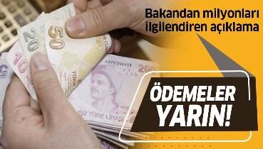 Son dakika: Nakdi ücret desteği ödemeleri yarın! Bakan Selçuk açıkladı!