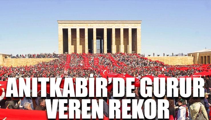 Kasım ayında 1 buçuk milyon kişi Anıtkabir'e akın etti