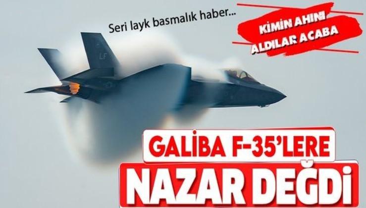 F-35'lere nazar değdi! ABD tam kapasiteli seri üretimi durdurdu