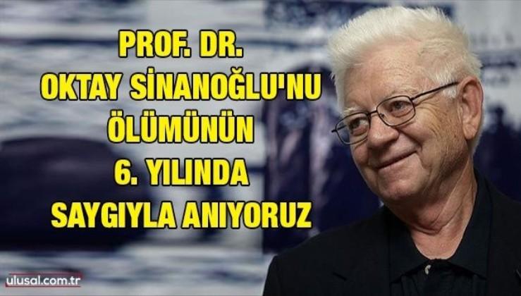 Prof. Dr. Oktay Sinanoğlu'nu ölümünün 6. yılında saygıyla anıyoruz