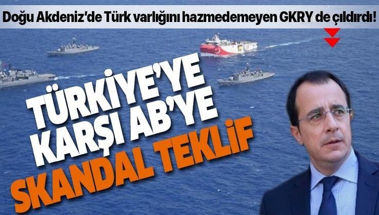 Son dakika: Doğu Akdeniz'de Türk varlığını hazmedemeyen GKRY'den skandal Türkiye teklifi
