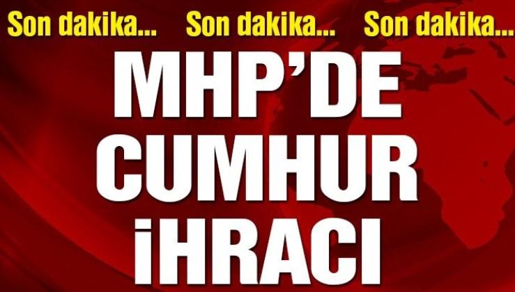 Son dakika: Milletvekili MHP'den ihraç edildi.