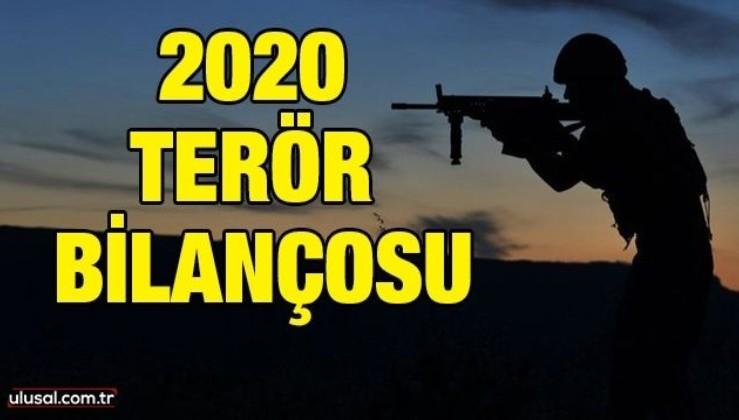 2020 terör bilançosu