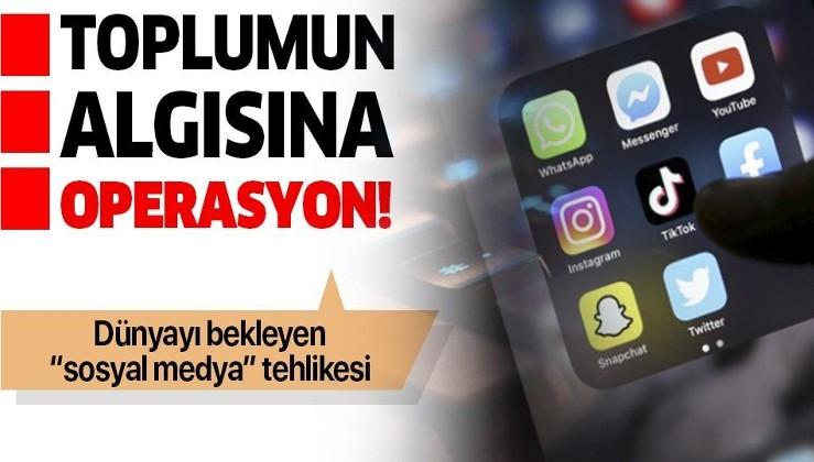 Sosyal medya dünyanın sorunu haline geldi! Toplumun davranış kalıplarını ve algısını böyle yönlendiriyorlar