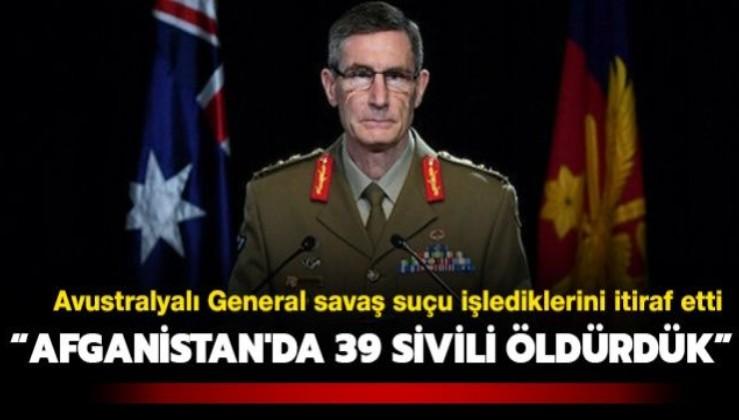 """Avustralyalı General'den itiraf: """"Acemi askerleri eğitmek için Afganistan'da 39 sivili öldürdük"""""""
