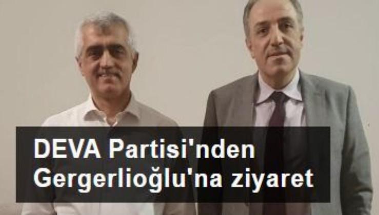 DEVA Partisi'nden Gergerlioğlu'na ziyaret