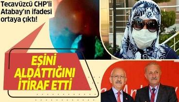 Didim Belediye Başkanı Ahmet Deniz Atabay tecavüzden aklanmak için eşini aldattığını itiraf etti