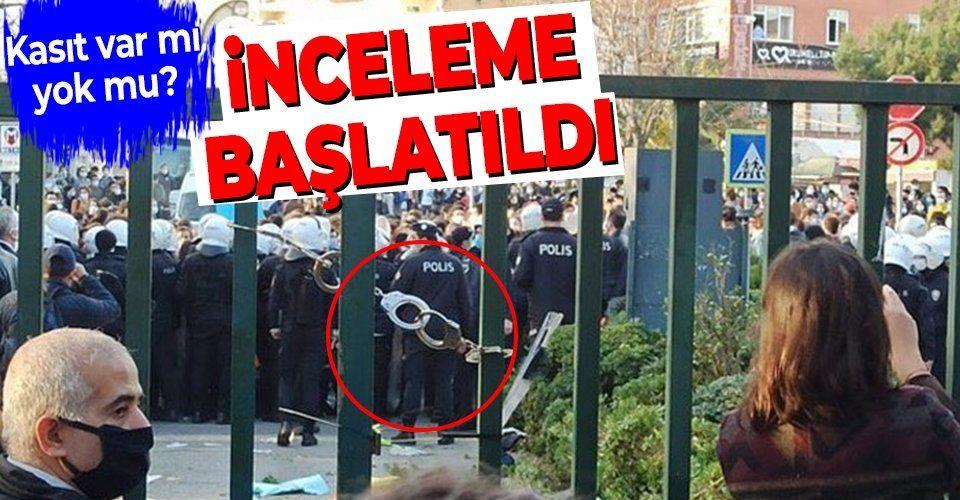 SON DAKİKA: Boğaziçi Üniversitesi kapısına takılan kelepçeyle ilgili inceleme başlatıldı