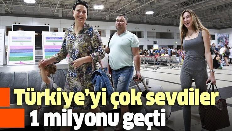 Akın akın geliyorlar! Antalya'da turist sayısı 1 milyonu geçti