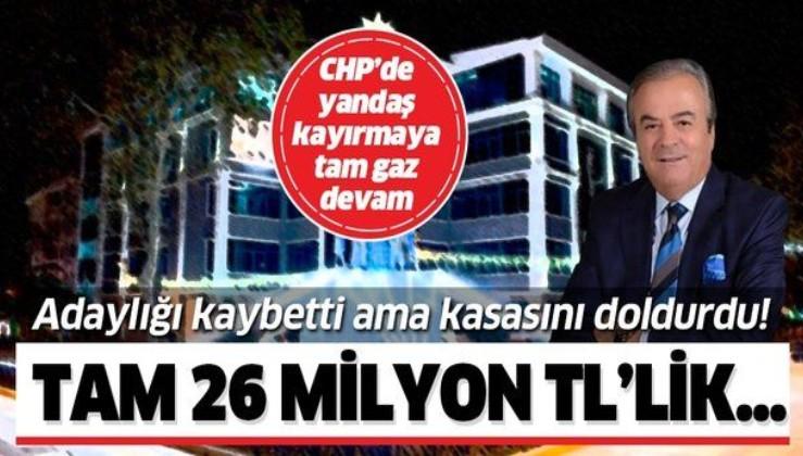 CHP'de ihale kıyağı! CHP'li Bahattin Erdoğan adaylığı kaybetti ama belediyeden milyonluk ihale kaptı!