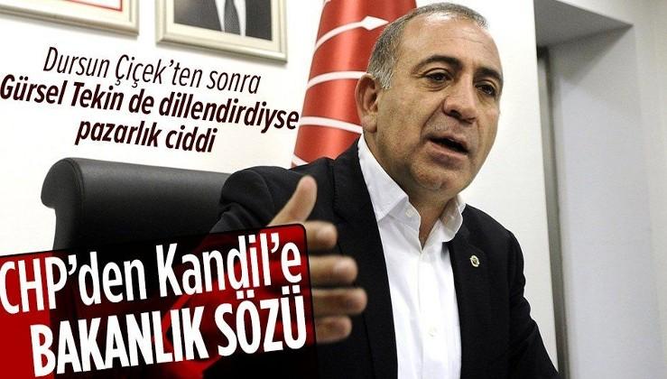 CHP'li Gürsel Tekin: İktidar olursak HDPye bakanlık verebiliriz