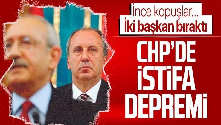 CHP'de 'Muharrem İnce' kopuşları sürüyor!