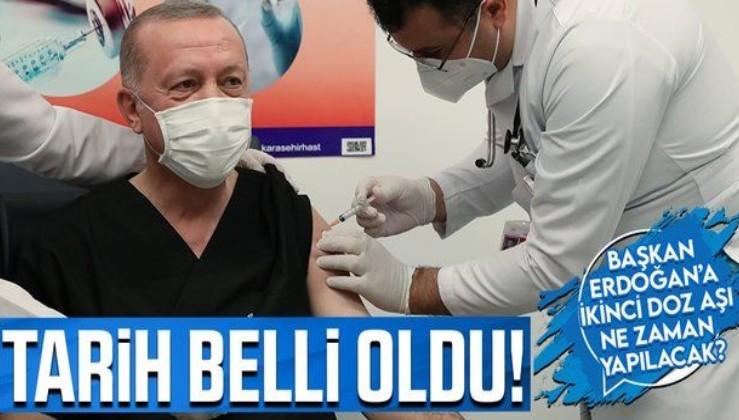 Erdoğan'a ikinci doz korona aşısı ne zaman yapılacak? İşte liderlerin aşı takvimi