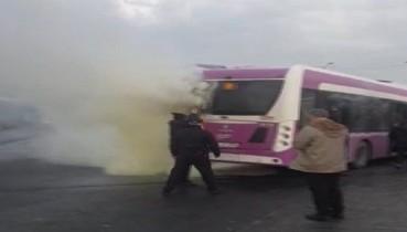 İETT otobüsünde korkutan yangın! Herkes seferber oldu