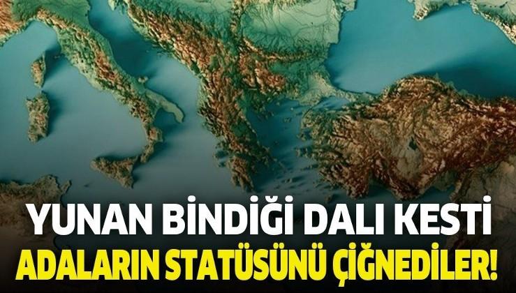 Yunan Türkiye'nin hamlesi sonrası bindiği dalı kesti! Adaların statüsünü...
