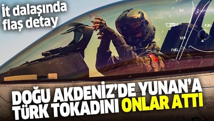 Doğu Akdeniz'deki Yunan tacizine Türk tokadı! F-16 dalaşında flaş detay ortaya çıktı! Kadın pilotlarımız...