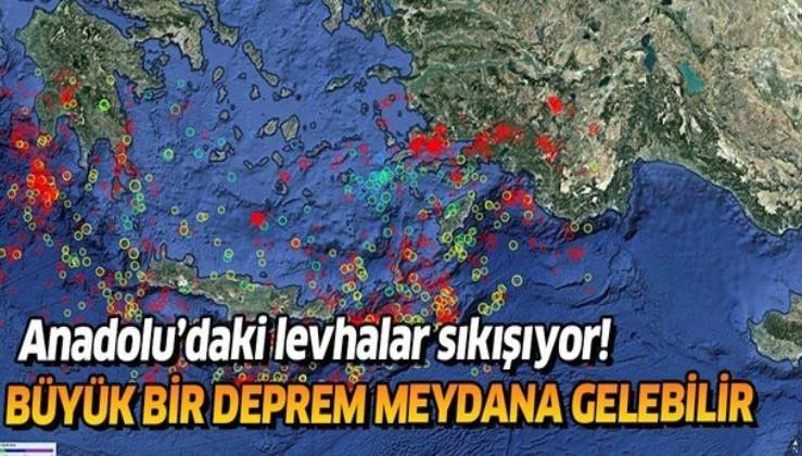 Son dakika: Akdeniz'de tehlikeli deprem fırtınası! 7 büyüklüğünde deprem meydana gelebilir