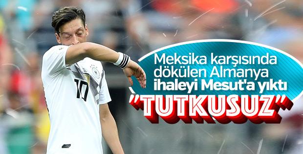 Almanların günah keçisi: Mesut Özil