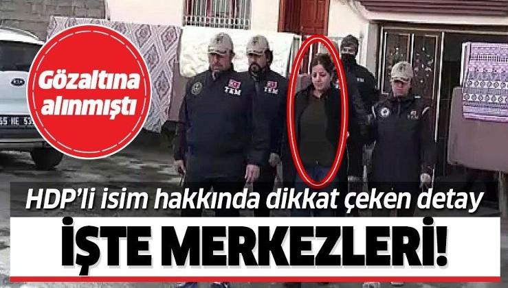 HDP'li Caziye Duman hakkında dikkat çeken detay! JTA'daki görevi ortaya çıktı!.