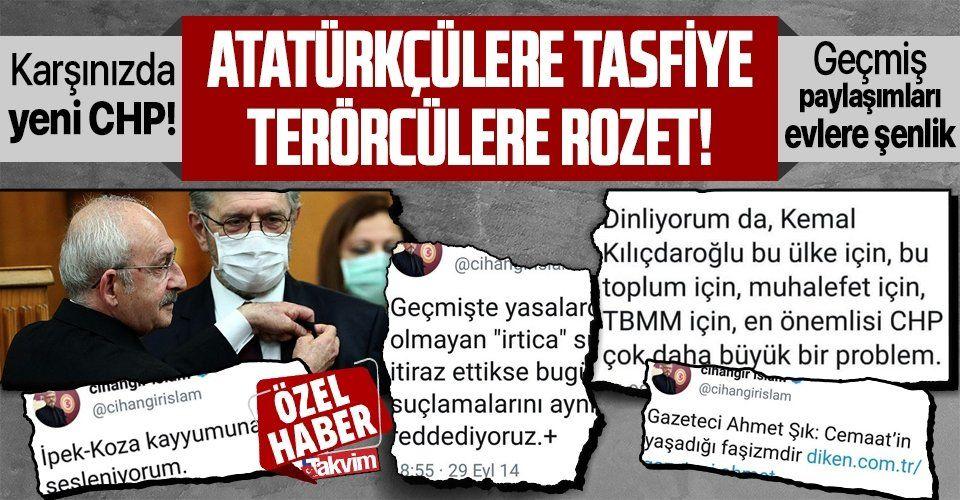 Kılıçdaroğlu'nun rozet takıp partiye transfer ettiği Cihangir İslam'ın geçmişi peşini bırakmayacak!