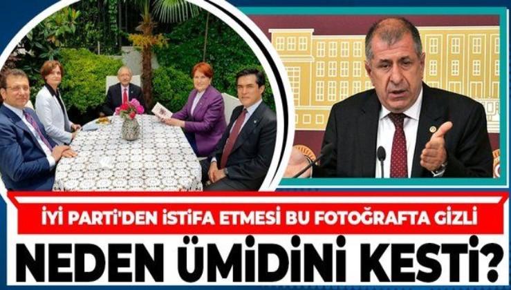 Ümit Özdağ İYİ Parti'den istifa etme nedenini açıkladı: FETÖ iltisaklı unsurları tercih ettikleri için istifa ettim