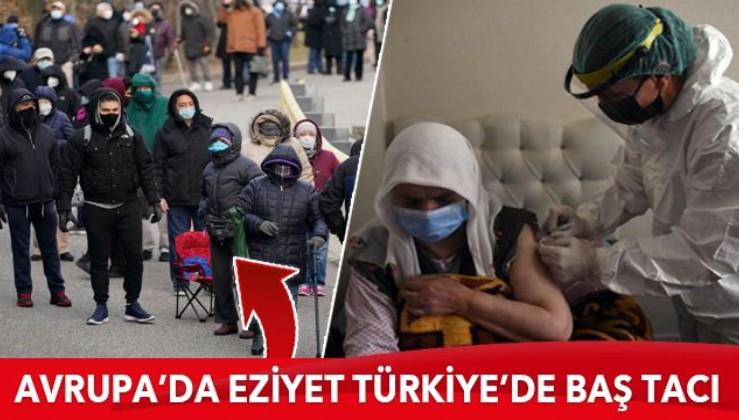 Avrupa'da son tercih Türkiye'de baş tacı: 90 yaş ve üzeri vatandaşlar için evde aşılama başladı