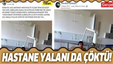 Emrullah Gülüşken üzerinden ortaya atılan 'hastane fotoğrafı' yalanı çöktü!