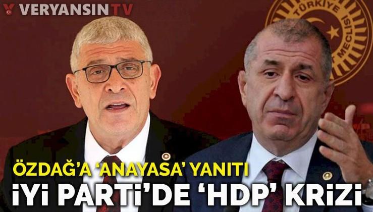 'HDP ile ortak anayasa' iddiasına İYİ Parti'den yanıt