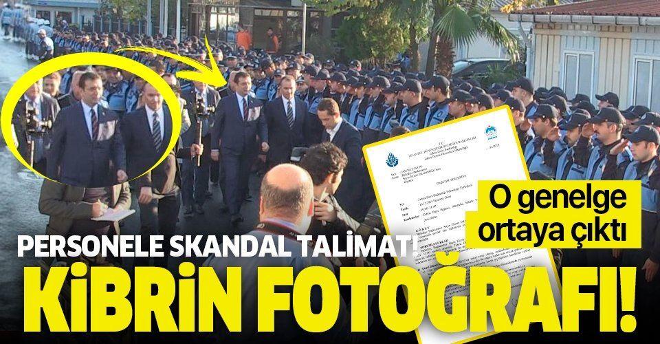 İşte Kibrin fotoğrafı! Ekrem İmamoğlu, 500 zabıta personelini yüksek sesle 'Sağol' diye selamlattırdı!.