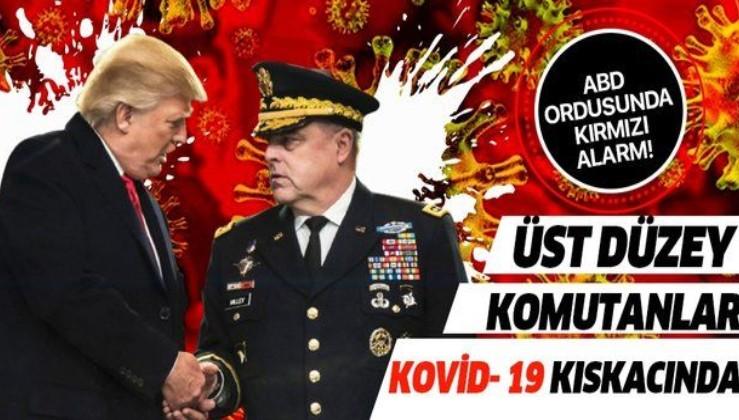 Son dakika: ABD Ordusunda kırmızı alarm! Genelkurmay Başkanı dahil birçok komutan Kovid-19 kıskacında...