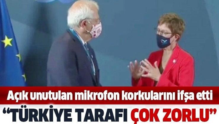 """Alman Savunma Bakanı mikrofonu açık unuttu: """"Türkiye tarafı gerçekten çok zorluydu"""""""