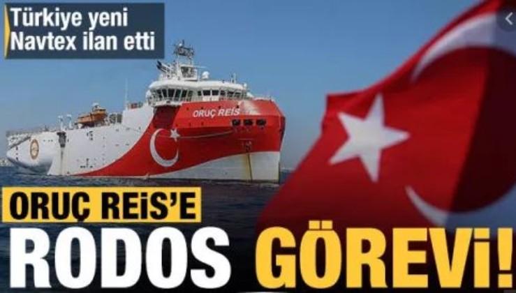 Son dakika: Türkiye'den Doğu Akdeniz'de yeni NAVTEX ilanı: Oruç Reis 4 Kasım'a kadar görev yapacak