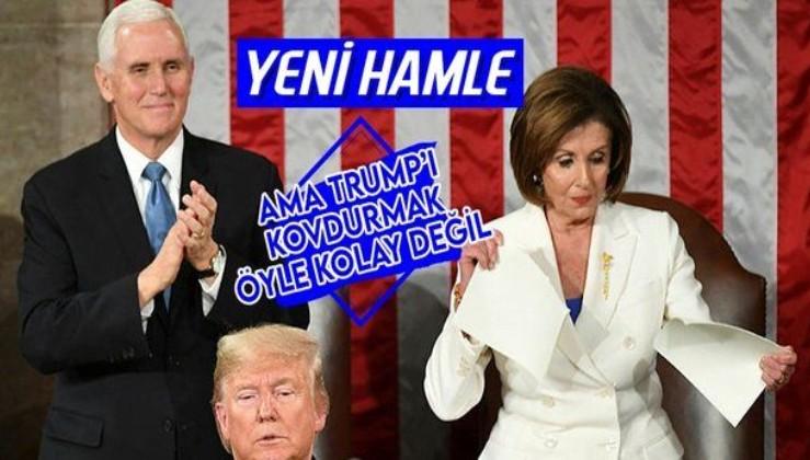 ABD Temsilciler Meclisi Başkanı Nancy Pelosi, eski ABD Başkanı Donald Trump'ın azil metnini Senato'ya sunacak
