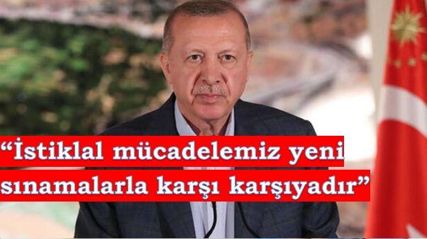 """Erdoğan: """"Kuklalarla değil, kuklacılarla muhatap olduğumuz bir döneme girdik."""""""