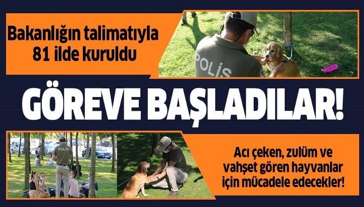 İçişleri Bakanlığı'nın kararıyla 81 ilde kurulan doğa ve hayvan polisi göreve başladı