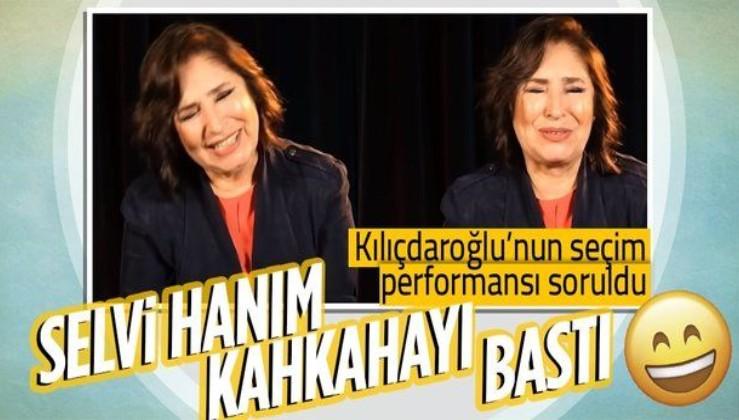 Kemal Kılıçdaroğlu'nun seçim performansı eşi Selvi Kılıçdaroğlu'nu da kahkahaya boğdu: Şimdiye kadar sevinemedik