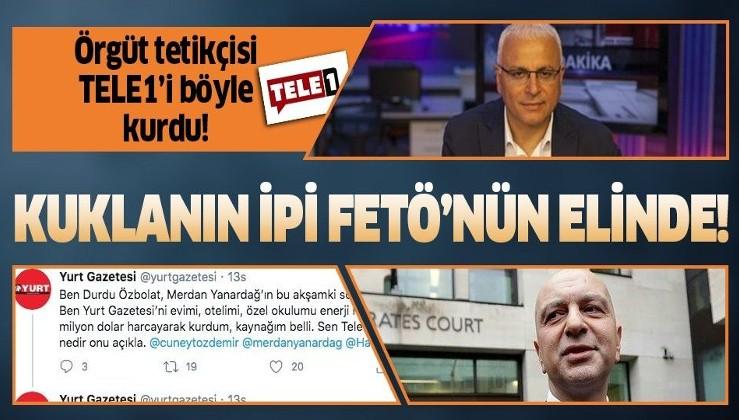 Kışkırtıcı Tele 1 FETÖ'cü Akın İpek'in desteğiyle kurulmuş