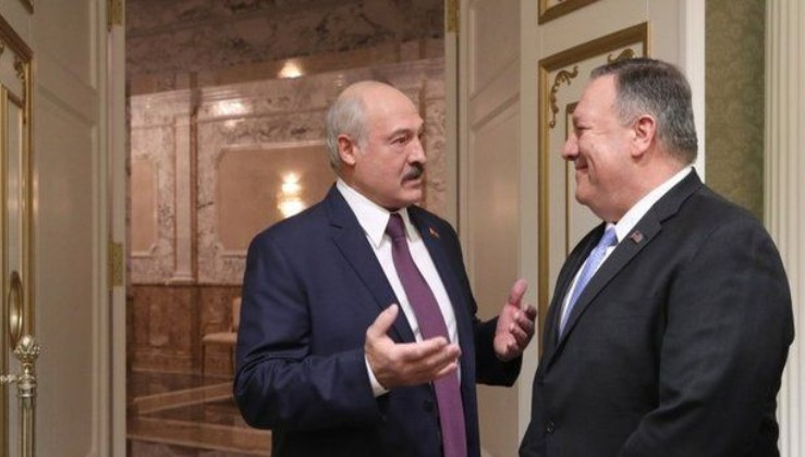 Lukaşenko'dan Pompeo'ya rest: Müttefikimiz Rusya
