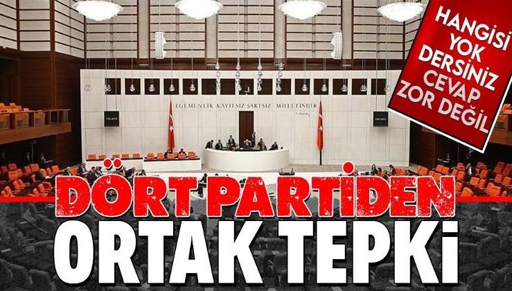 SON DAKİKA: TBMM'deki 4 parti ABD'nin Türkiye'ye yaptırım kararına tepki gösterdi