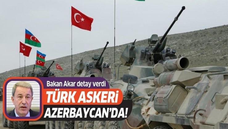 Son dakika: Milli Savunma Bakanı Akar duyurdu: Ortak Merkez'de görev yapacak personel Azerbaycan'a gitti