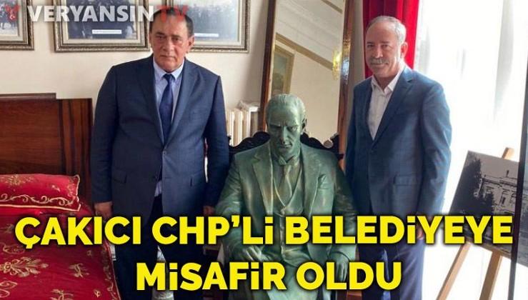 Alaattin Çakıcı CHP'li belediyenin misafiri oldu!