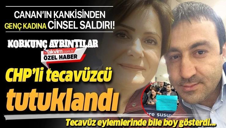 Canan Kaftancıoğlu'nun yakın arkadaşı ve CHP Maltepe İlçe Başkan Yardımcısı Umut Karagöz, genç kadını taciz ettiği için tutuklandı