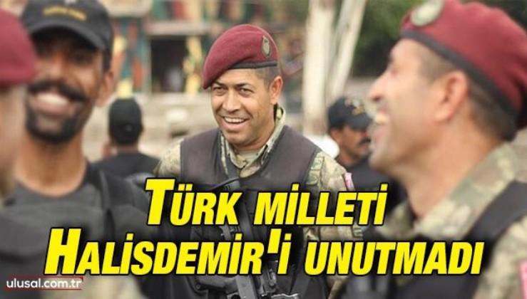 Türk milleti Ömer Halisdemir'i unutmadı